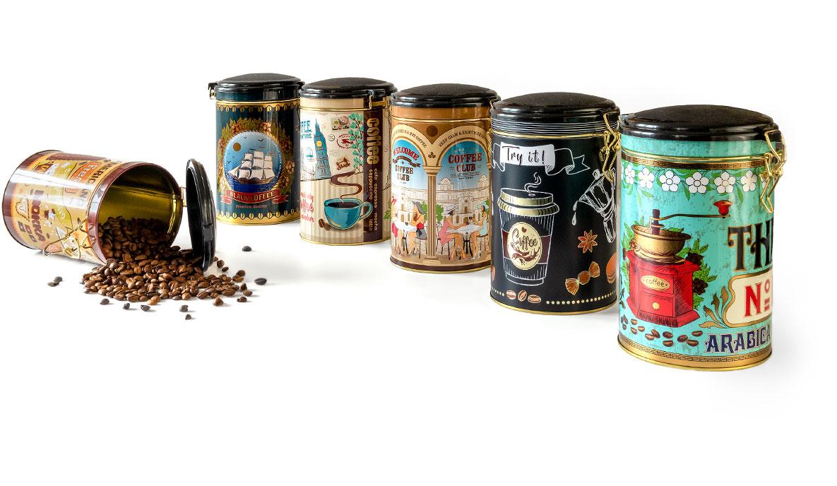 opakowania pudełka do przechowywania kawy
